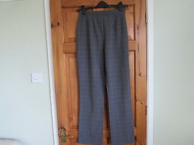 M&S tartan  50s / northern soul high waist trousers size 12 / 14