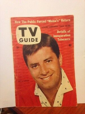 TV Guide Jerry Lewis 1957