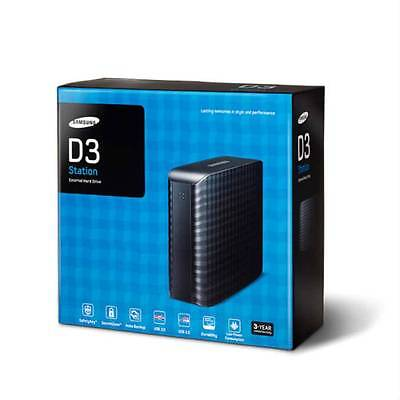 4TB Samsung D3 Massive 4000 GB 4 TB Desktop External Hard Drive Disk USB HDD HD