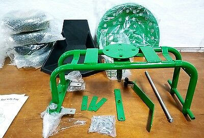 J Best Choice Products Rolling Garden Cart, Work Seat, Tool Tray, Heavy Duty