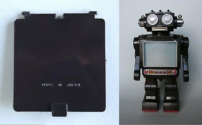 Reproduction battery cover for Super Space Commander Robot