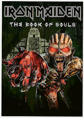 IRON MAIDEN carte postale n° ATHQ 261   THE BOOK OF SOULS
