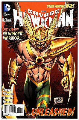 The Savage Hawkman 9 DC Comics