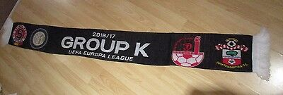 Southampton Sparta Prague Internationale H Beer Sheva Official 2016 Europa Scarf