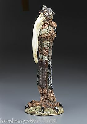 Burslem Pottery Andrew Hull OLGA Grotesque Bird INSPIRED by Martin Brother