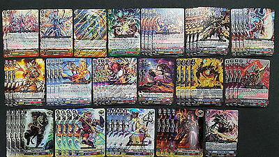 Cardfight Vanguard Kagero Complete 50 Card Deck - Overlord The Legend w/ Vortex