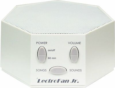 LectroFan Jr. - White Noise Machine with 6 Fan and 6 White Noise Options, White