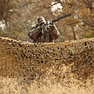 Red Rock Outdoor Gear Hunting Series Camouflage Netting, Desert, 10 X 20-Feet