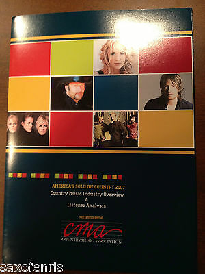 COUNTRY MUSIC- CMA Industry Overview & Listener Analysis SUPER RARE