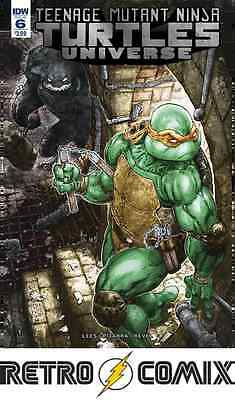 Idw Tmnt Universe #6 First Print New/unread Bagged & Boarded