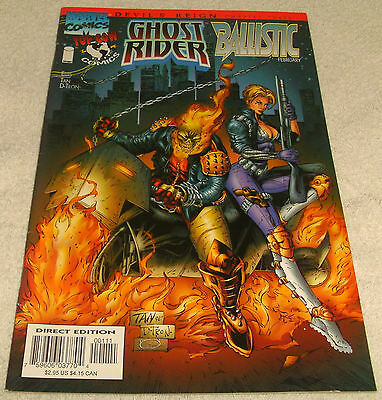 Image Topcow Marvel Comics Ghost Rider Ballistic # 1 Vf (Devils Reign Pt 3)
