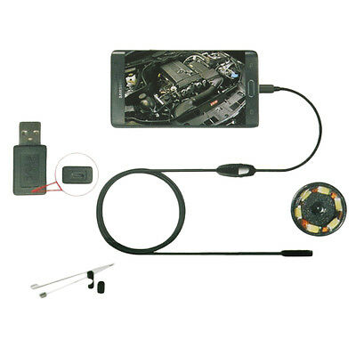 *6LED 7mm Lens Endoscope Waterproof Inspection Borescope Camera for Android UX*S
