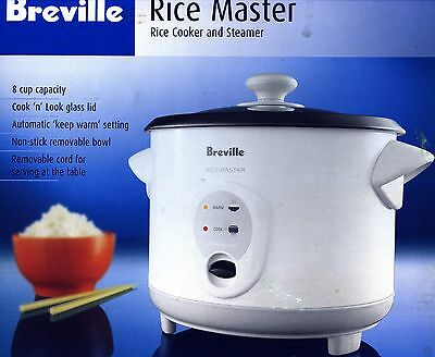 Breville Rice Master Rice Cooker And Steamer Brc200