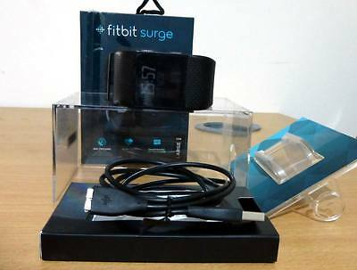 Fitbit Surge Ultimate Fitness Super Watch - Black - Large