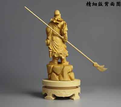 Wood Carving Craft,Hand-made Home Decoration,GuanGong GuanYu stutes