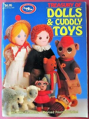 Treasury of Dolls & Cuddly Toys to Sew, Knit & Crochet - 112 Pages