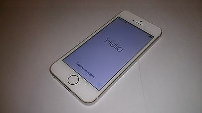 Iphone 5S White Locked To Icloud