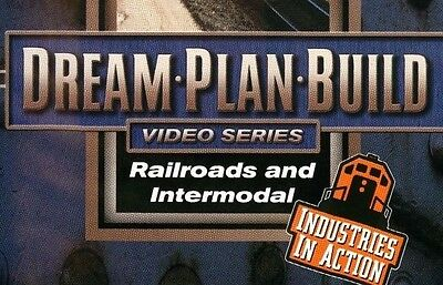Railroads and Intermodal DVD 73114D Dream Plan Build Industries in Action rs