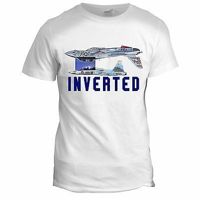 Top Gun Inspired Maverick Inverted Mig Movie Film 90s Tumblr RAF T Shirt