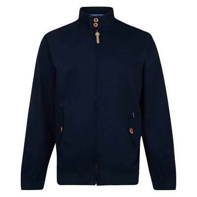Lambretta Mens Navy Harrington Bomber MOD SKA Scooter Jacket Coat