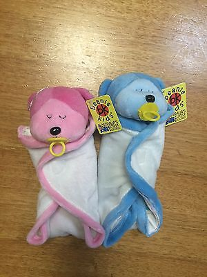 Beanie Kids Giggle & Wriggle Retired Baby Brand New With Tags