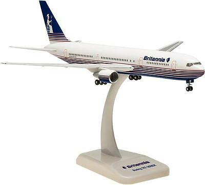 Hogan Wings 1:200 Boeing B767-300ER,Britannia Airways,with Stand and Gear, 0908