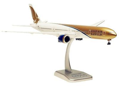 Hogan Wings 1:200 Gulf Air Boeing B777-300ER With Gears and Stand 0540