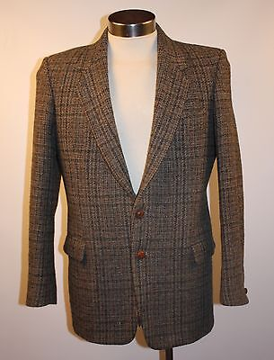 "Medium Mens Harris Tweedjacket. Original Vintage.  "" Mancini"" Made In Australia."