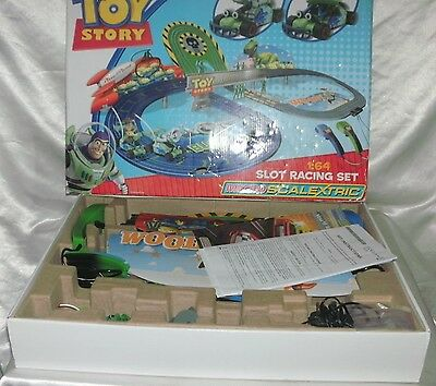 Toy Story Micro Scalextric Slot Racing Set 1:64 Boxed