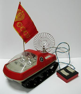 Vintage Soviet Russian Toy Moon Walker Rare! Space Ussr