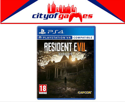 Resident Evil 7 Biohazard Game PS4/ Playstation VR New