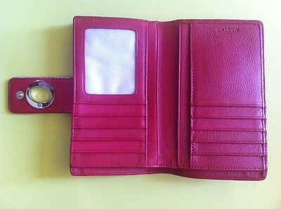 Women's genuine leather RED Oroton Purse