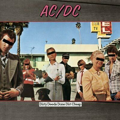 AC/DC Dirty Deeds Done Dirt remastered 180gm vinyl LP NEW/SEALED