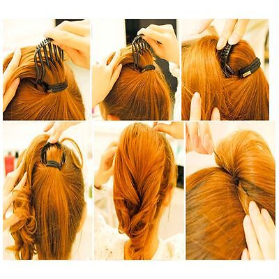 Hot Sale Durable Volume Inserts Ponytail Hair Clip Bumpits Bouffant Comb