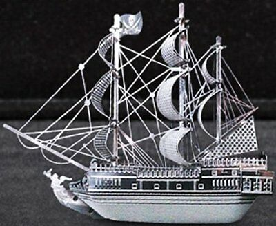 Metallic Nano Puzzle Black Pearl TMN-11 ship mini model kit BEST BUY GIFT