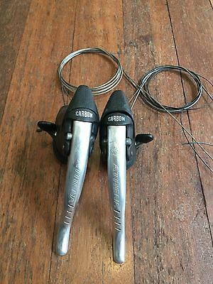 Campagnolo Athena 8 speed shifter/ergo levers. VGC!