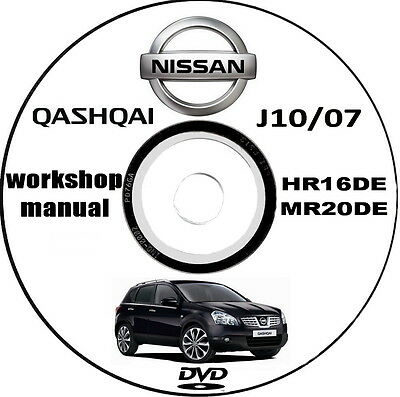 Workshop Manual,Manuale Officina Nissan Qashqai J10 anno 2007