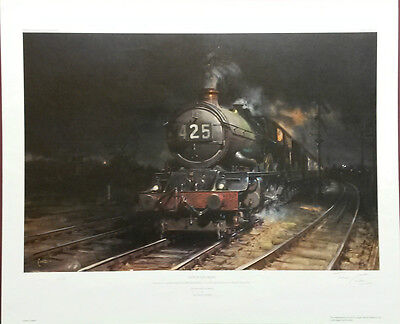 OUT OF THE NIGHT,Limited Edition,Signed by Terence Cuneo Print