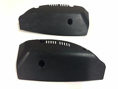 Mgf / Mg Tf Inner Rear Light Covers ( Dark Grey / Black ) Brand New Genuine Part