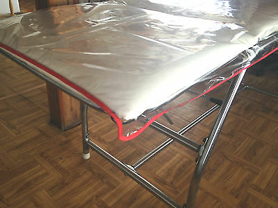 Couch Cover For Massage Tables PVC Plastic Crystal Protection