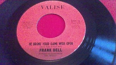 Frank Dell: He Broke Your Game Wide Open/I'll Go On Loving You: Valise 6900