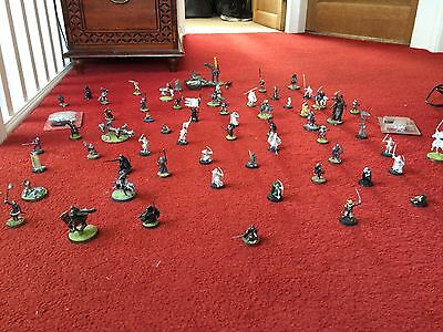 Games Workshop Lord Of The Rings All Metal Figurines Approx 65 Pieces