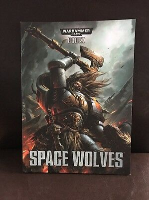 Warhammer 40K Space Wolves Codex - Softback - New Free Postage