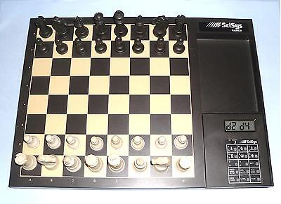 ideal gift rapier electronic Chess Computer by scisys retro vintage