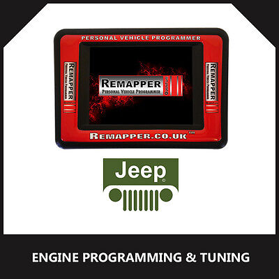 Jeep - ECU Remapping | Engine/Chip Tuning | ECU Programming Tool