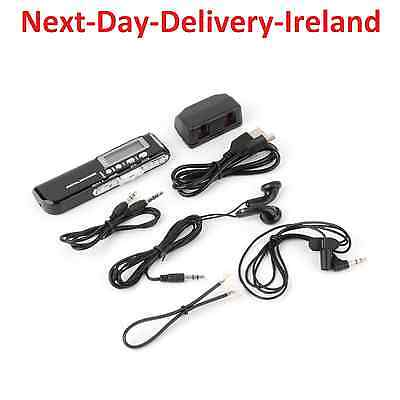 8GB 650Hr USB LCD Screen Digital Audio Voice Recorder Dictaphone MP3 Player