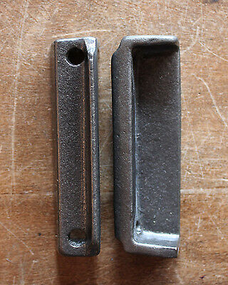 CAST IRON RIM LOCK DOOR KEEP 85mm ~ BRITISH MADE VICTORIAN RIMLOCK KEEPS ~ KP17