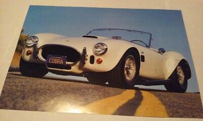 1966 Ford Shelby Cobra 427 Convertible Muscle Car Picture Page from a Calendar