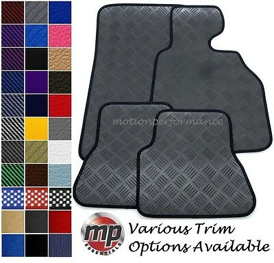 Perfect Fit Black Heavy Duty 100% Rubber Car Floor Mats Set to fit Rover Maestro