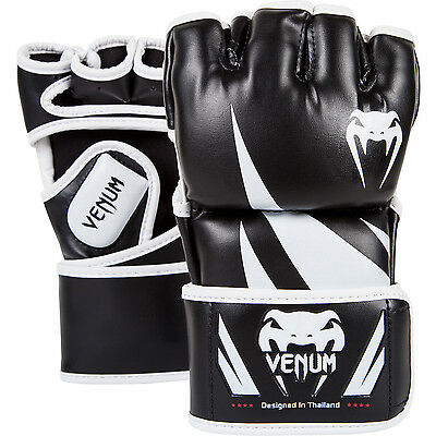 Venum Challenger MMA Gloves - Black & White